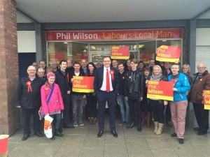 PhilWilson re-election campaign launch 2015