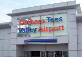 Durham Tees Valley Airport (Teesside Airport)