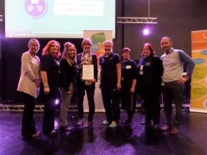 Wellbeing for Life recognised for supporting volunteers