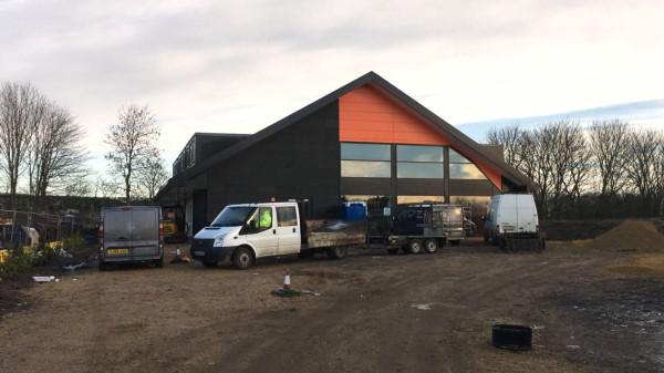 Dyno Plumbing Trimdon Grange - work almost complete