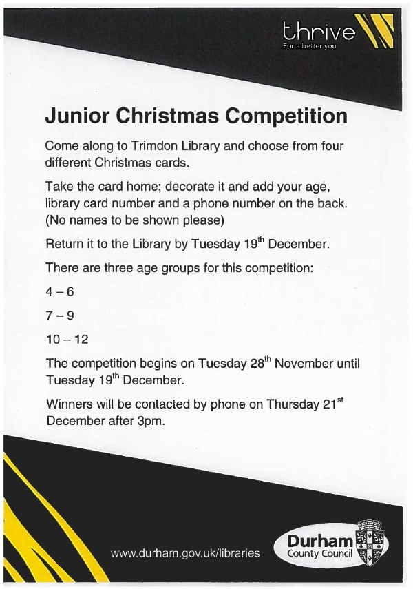 Junior Christmas Competition