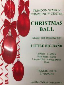 Trimdon Station Christmas Ball