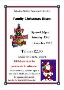 Family Christmas Disco