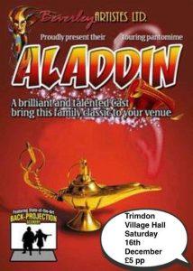 Aladdin at Trimdon Village Hall
