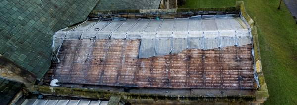 Lead stolen from roof of St. Edmund's Sedgefield