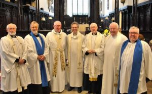 Archdeacon impresses at first Upper Skerne service