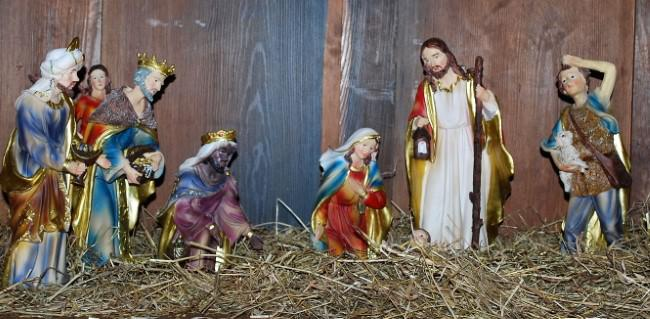 Crib delights at St Alban's, Trimdon Grange