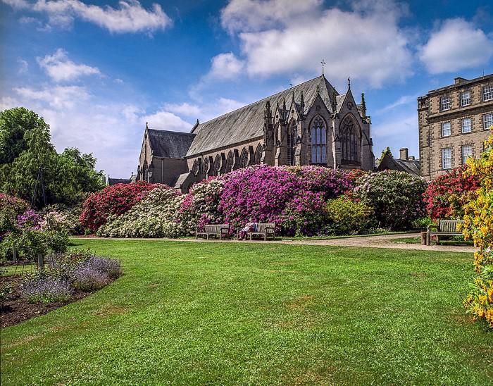Ushaw College visit from St Edmund's Sedgefield