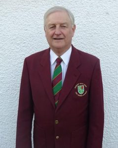 David Rose in Dunvant Male Choir blazer