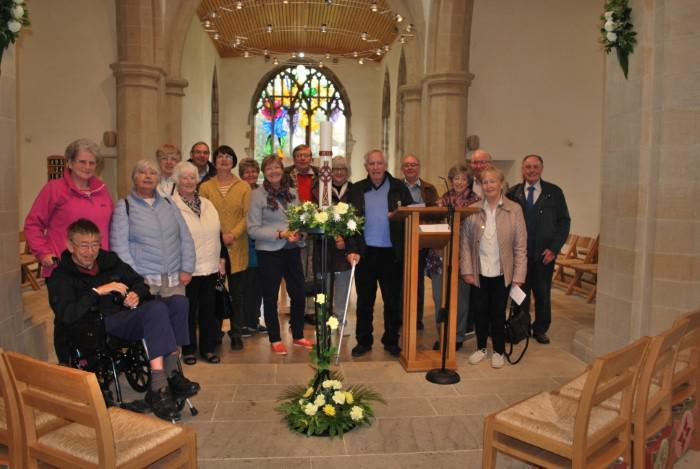 St. Brandons church and Brancepeth visit for Sedgefield Friends