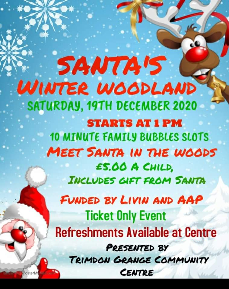 Winter Wonderland at Trimdon Grange, 19th December 2020