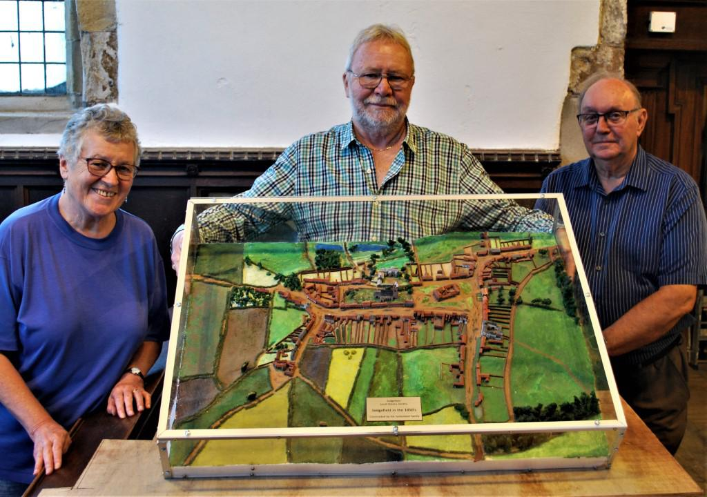 The model will go on display at St Edmund's Church